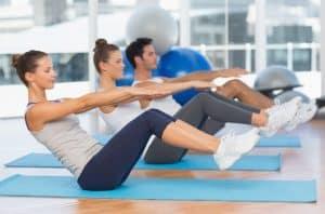 פיתוח שרירי בטן - חדר כושר הולמס פלייס